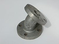 Flanged Elbow, 45&#176