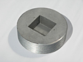 Plug, Countersunk Square Head